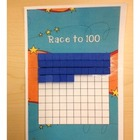 Race to 100 - Place Value Game
