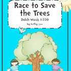 Race to Save the Trees -- Dolch Words