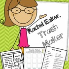 Rachel Eaker, Trash Maker: Resources about Reducing, Reusi