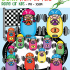Racing Car Kids - Graphics From the Pond