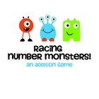 Racing Number Monsters!