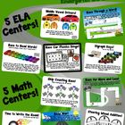 Racing to Common Core! 10 ELA & Math Race Car Centers for