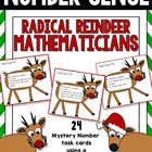 Radical Reindeer Mathematicians - Mystery Number Problem Solving