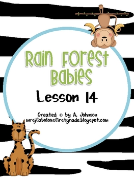 Rain Forest Babies Supplementals for Storytown 2nd Grade L