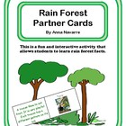 Rain Forest Partner Cards