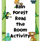 Rain Forest Read the Room Activity