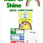 Rain or Shine place value scoot
