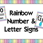 Rainbow Alphabet & Numbers {2}