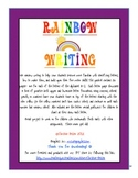Rainbow Alphabet Writing A-Z Worksheets