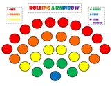 Rainbow Game: Rolling A Rainbow Game (St. Pat's Day, Rainb
