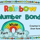 Rainbow Number Bonds - Differentiated Math Work Station- A