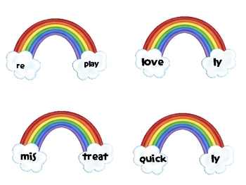 Rainbow Prefix and Suffix
