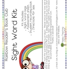 Rainbow Reader&#039;s Book Club-Sight Words