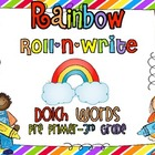 Rainbow Roll-N-Write (Dolch Words PP-3rd Grade)
