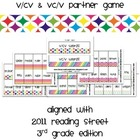 Rainbow Sort V/CV & VC/V Game (aligned with Reading Street
