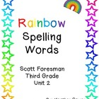 Rainbow Spelling Words Unit 2