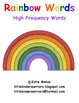 Rainbow Words-Sight Word Literacy Center