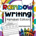 Rainbow Writing Handwriting Set- ABC&#039;s