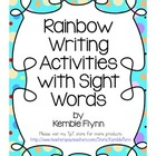 Rainbow Writing Sight Words