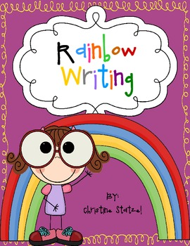 Rainbow Writing for Spelling Words/Sight Words