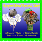Rainforest Animal Puppet Masks (Included in Rainforest: Ma