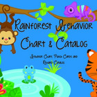 Rainforest Behavior Chart & Catalog