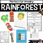 Rainforest Cuties Unit { ELA, Math, Art, Science and More