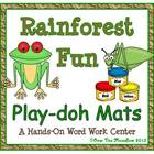 Rainforest Fun Playdoh Activity Pack