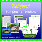 Rainforest:  Fun Stuff 4 Teachers