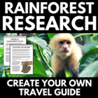 Rainforest Research Package: Student Travel Guides