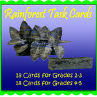 Rainforest Student Project Cards (Included in Rainforest: