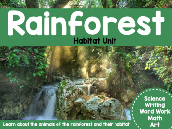 Rainforest Unit Plan