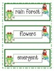 Rainforest Word Wall Freebie