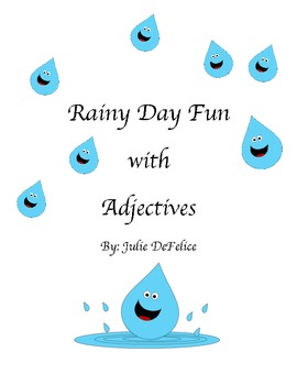 Rainy Day Adjectives Activities