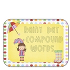 Rainy Day Compound Words Center
