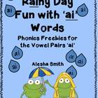 Rainy Day Fun with 'ai' Words
