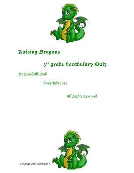 Raising Dragons Vocabulary Quiz