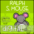 Ralph S. Mouse Comprehension Questions and Novel Study