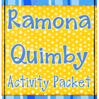 Ramona Quimby Activity Packet