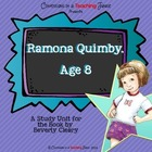 Ramona Quimby, Age 8 - Literature Study
