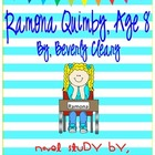 Ramona Quimby, Age 8 Novel Study