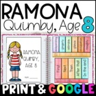 Ramona Quimby, Age 8 Reading Responses
