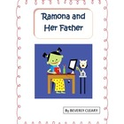 Ramona and Her Father comprehension pack and test