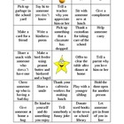 "Random Acts of Kindness ""KIND"" Bingo"