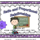 Ratio and Proportional Relationship Activities