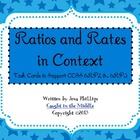 Ratio and Rates in Context