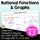 Rational Functions ALG 2 Lesson 3: Rational Functions and