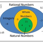 Rational Numbers - Integers - Whole Numbers - Natural Numb