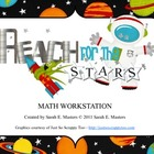 Reach for the Stars - Math Game - Math Center