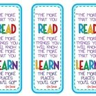 Read Across America Bookmark